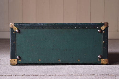 アンティーク,ヴィンテージ,トランク,衣装トランク,HARTMANN,ハートマン,アメリカ製,底もきれいな状態