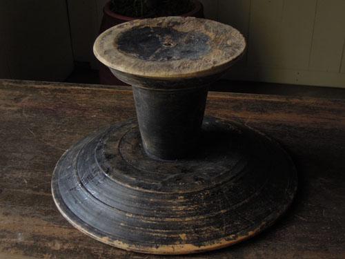 裏側,アンティーク,器,高杯,木製,プリミティブ,古道具