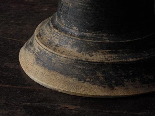経年変化で趣ある印象に,アンティーク,器,高杯,木製,プリミティブ,古道具