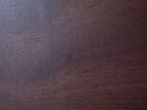 裏,アンティーク,カッティングボード,まな板,北欧雑貨,デンマーク,チーク材