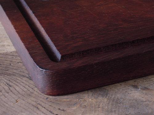 水切りの溝,アンティーク,カッティングボード,まな板,北欧雑貨,デンマーク,チーク材