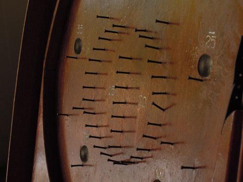 釘には曲がっているところも,アンティーク,おもちゃ,パチンコ,木製,ディスプレイ,雑貨,古道具