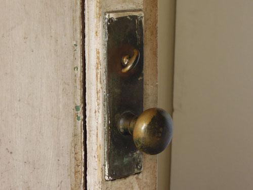 ドアノブ,アンティーク,ヴィンテージ,ドア,玄関ドア,白,ペイント,ガラス