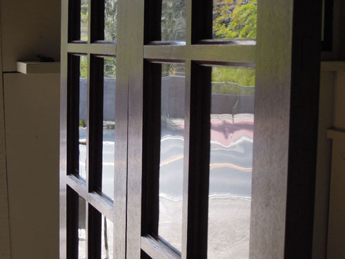 ゆらゆらガラス,アンティーク,両開き扉,観音開き,ドア,建具,木製,洋館,店舗
