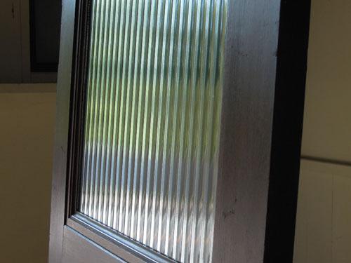 大きめのモールガラス窓,アンティーク,ヴィンテージ,建具,ドア,木製,玄関ドア,モールガラス