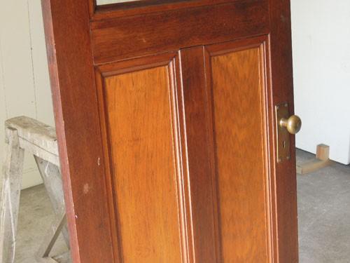 コンディション良好,アンティーク,ヴィンテージ,建具,ドア,木製,玄関ドア,モールガラス