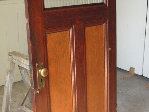 良いコンディション,アンティーク,ヴィンテージ,建具,ドア,木製,玄関ドア,モールガラス