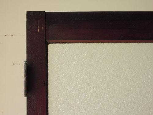 ダイヤガラス寄り,アンティーク,ヴィンテージ,ドア,玄関ドア,白,ペイント,イギリス,オーク材