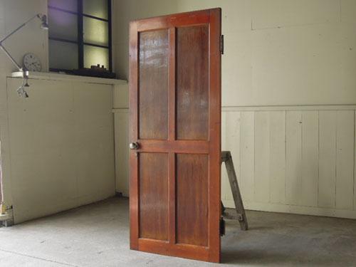 逆側,アンティーク,ドア,建具,木製,リノベーション,DIY