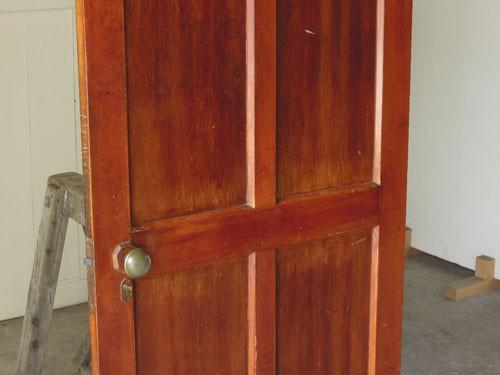 経年変化も良い風合いに,アンティーク,ドア,建具,木製,リノベーション,DIY