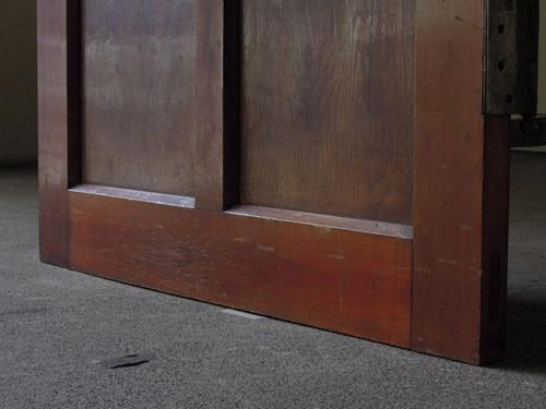 逆側の脚元,アンティーク,ドア,建具,木製,リノベーション,DIY