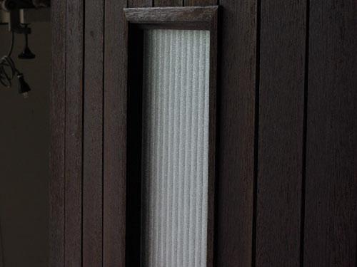 光りは通しながら中は見えすぎない,アンティーク,ドア,建具,木製,小屋,アトリエ,店舗,リノベーション
