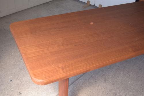 アンティーク,ヴィンテージ,北欧家具,デンマーク,チーク材,ダイニングテーブル,木目