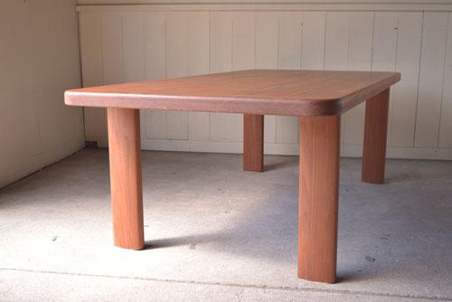 アンティーク,ヴィンテージ,北欧家具,デンマーク,チーク材,ダイニングテーブル,側面,サイド