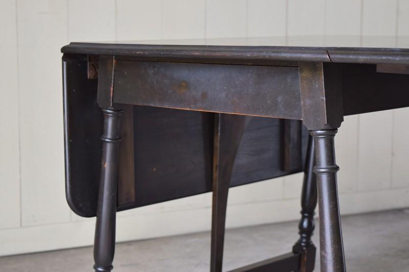 引き出し付き,アンティーク,ヴィンテージ,バタフライテーブル,テーブル,ダイニングテーブル,カフェテーブル,机