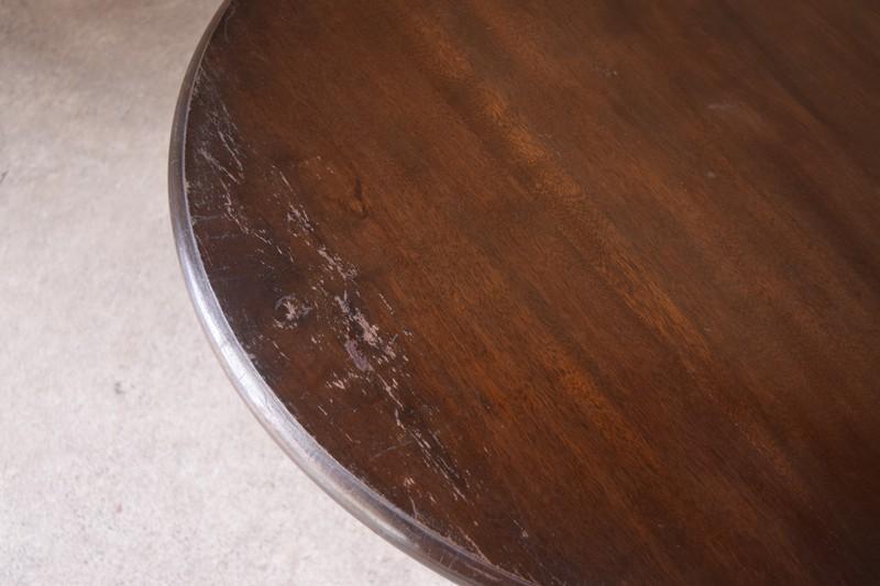 天板に擦れた跡あり,アンティーク,ヴィンテージ,センターテーブル,カフェテーブル,飾り台,イギリス,桜材,ショップ