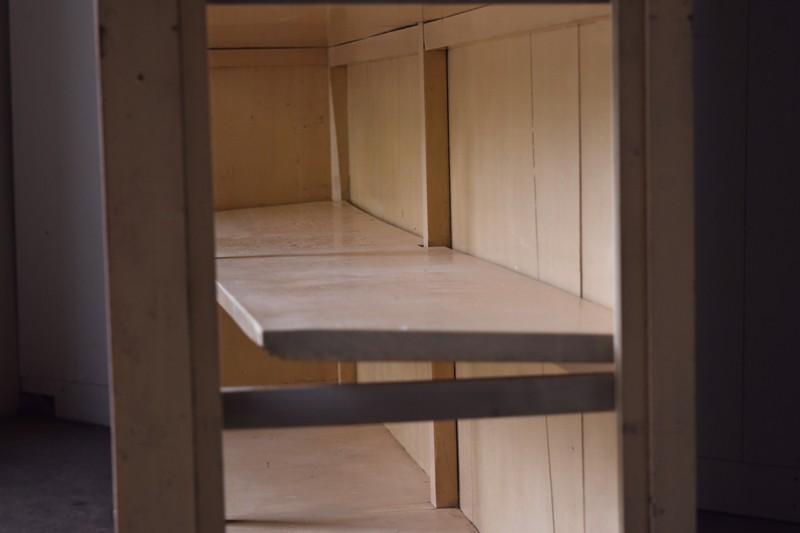 棚板に少々歪みあり,アンティーク,ヴィンテージ,特大,ガラス戸棚,ガラスケース,本棚,食器棚,陳列,ショーケース,ショップ,什器