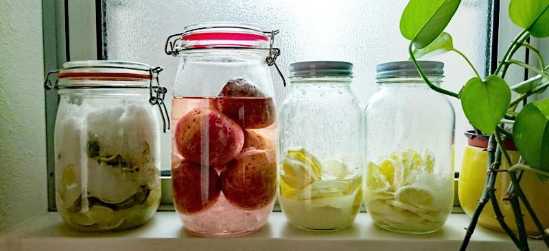 梅ジュース,黒糖ジンジャエール,プラムソーダ,水出しアイスコーヒー