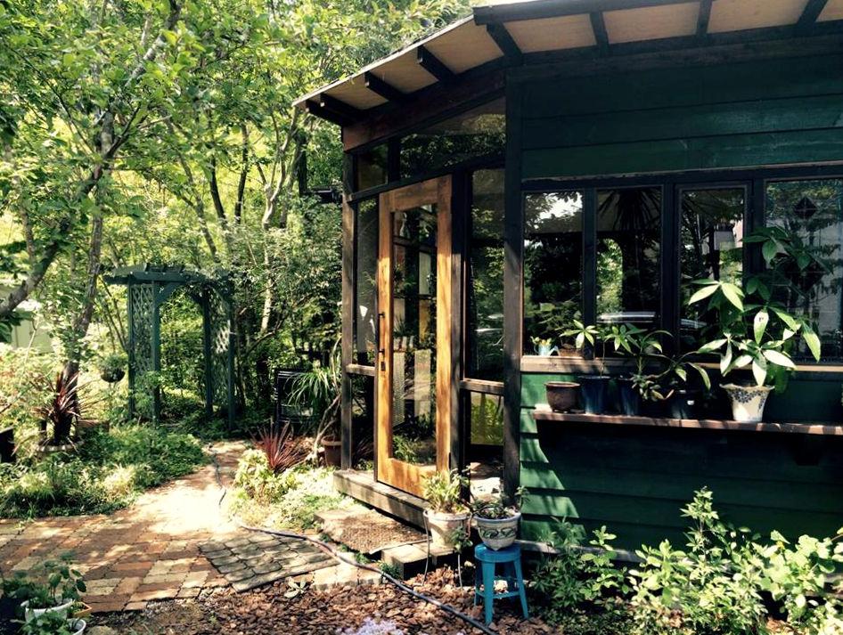飯能,カフェ,HACHISU, REFACTORY antiques,内装,リノベーション,什器,アンティーク建具