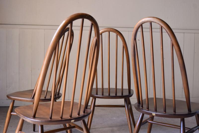 背もたれ,ヴィンテージ,アンティーク,アーコール,ERCOL,椅子,チェア,クエーカーチェア,ウィンザーチェア,イギリス