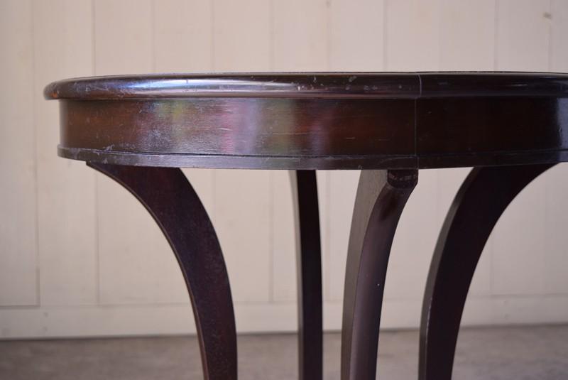 幕板,アンティーク,ラウンドテーブル,テーブル,カフェテーブル,飾り台,花台,桜材,洋館