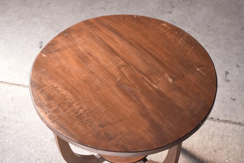 アンティーク,ヴィンテージ,テーブル,ラウンドテーブル,カフェテーブル,俯瞰