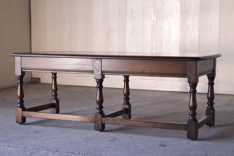 アンティーク,ERCOL,アーコール,テーブル,センターテーブル,コロニアル様式,イギリス
