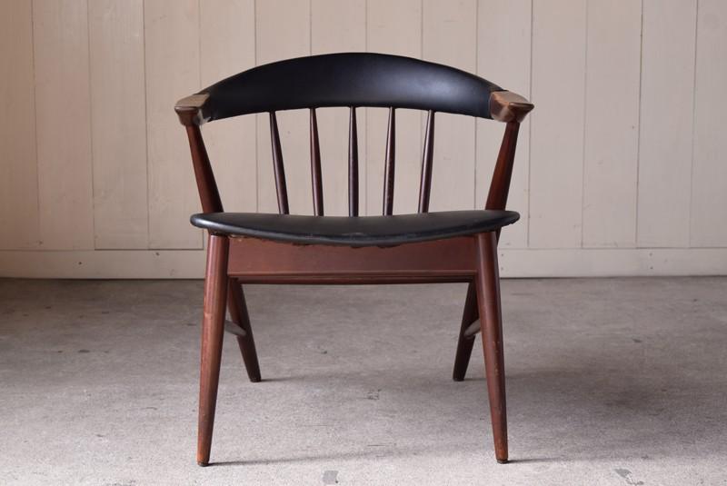 正面,ヴィンテージ,アンティーク,アームチェア,イージーチェア,椅子,チェア,ブナ材,楢材