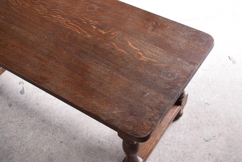 天板状態,アンティーク,ヴィンテージ,センターテーブル,ローテーブル,ナラ材無垢,楢材,風合い