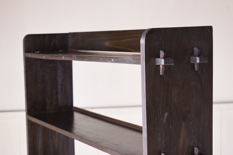 素材厚,アンティーク,本棚,オープンラック,什器,陳列,収納,クサビ