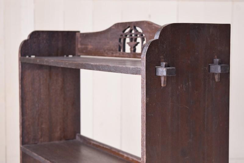 装飾,アンティーク,ヴィンテージ,本棚,オープンラック,透かし彫り,陳列棚