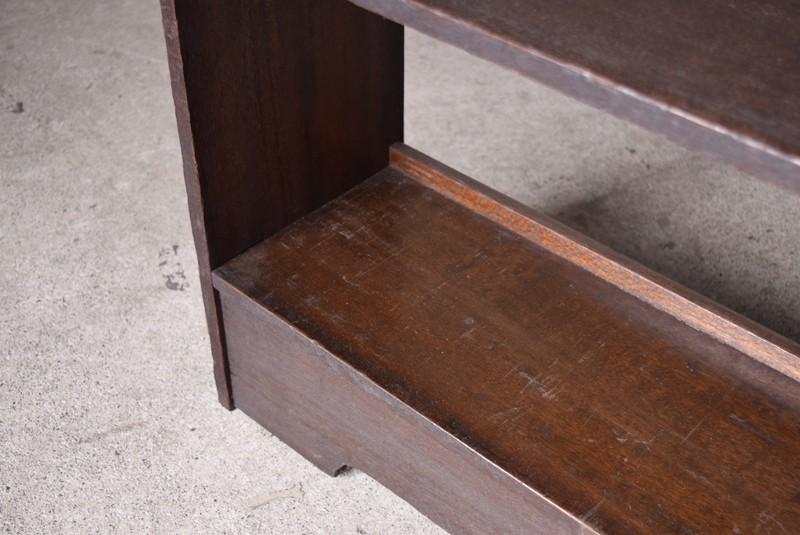 棚板のコンディション,アンティーク,ヴィンテージ,本棚,オープンラック,透かし彫り,陳列棚