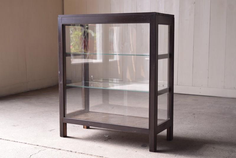 アンティーク,ガラスショーケース,ガラスケース,陳列棚,レジカウンター,食器棚