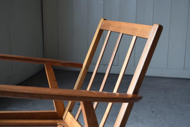 リラックスできる角度,デンマーク家具,北欧家具,イージーチェア,ソファ,ビンテージ,チーク材,オーク材