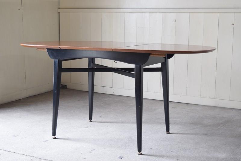 ミッドセンチュリー,モダン,6人掛けテーブル,エクステンションテーブル,北欧, G-Plan, ダイニングテーブル,イルマリタピオヴァーラ