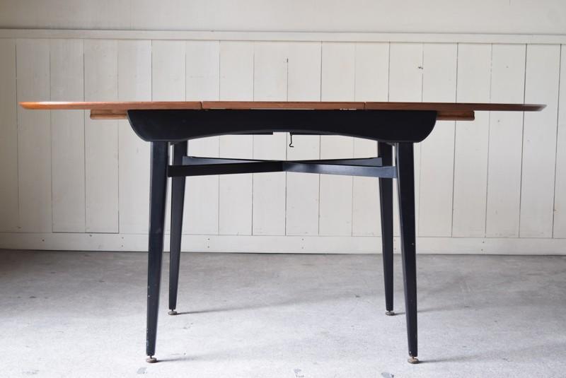 天板を足した様子,エクステンションテーブル,北欧, G-Plan, ダイニングテーブル,イルマリタピオヴァーラ