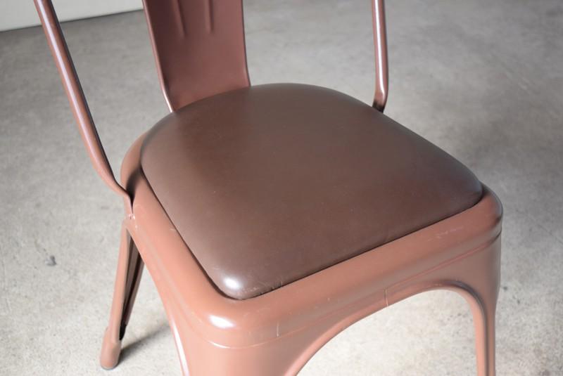シートもきれいな状態,ヴィンテージ,椅子,TOLIX,Aチェア,フランス製,カフェチェア