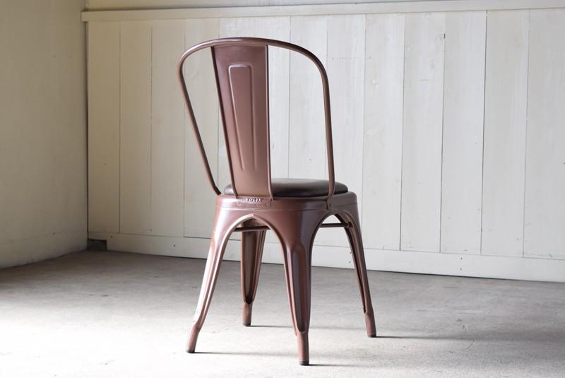 背面,ヴィンテージ,椅子,TOLIX,Aチェア,フランス製,カフェチェア
