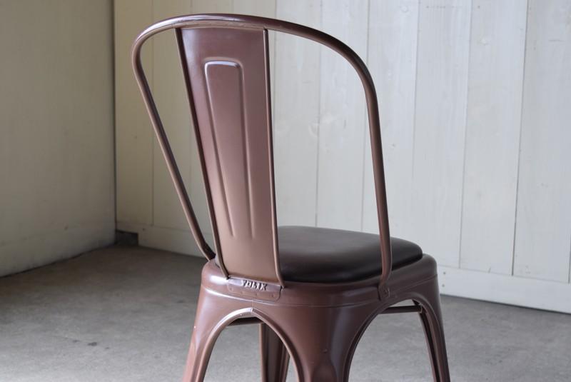 背もたれバック,ヴィンテージ,椅子,TOLIX,Aチェア,フランス製,カフェチェア