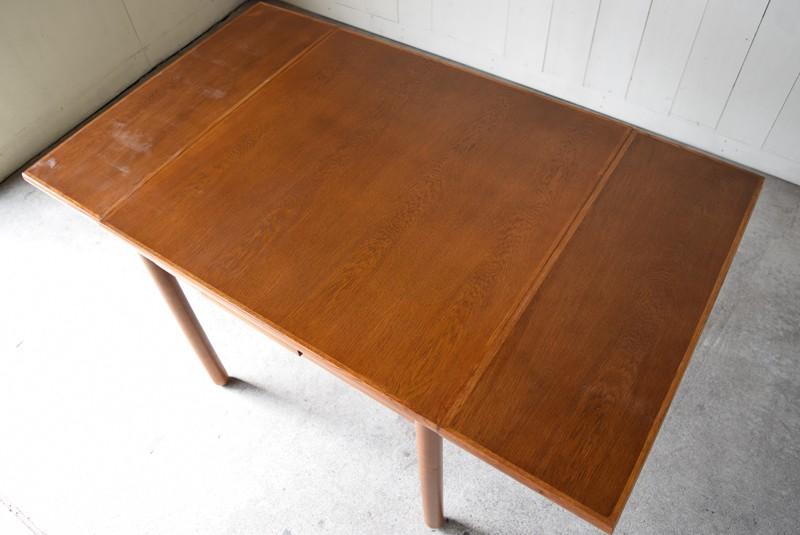 ナラ材の突板天板,ヴィンテージ,カリモク,karimoku,テーブル,ダイニングテーブル,エクステンションテーブル