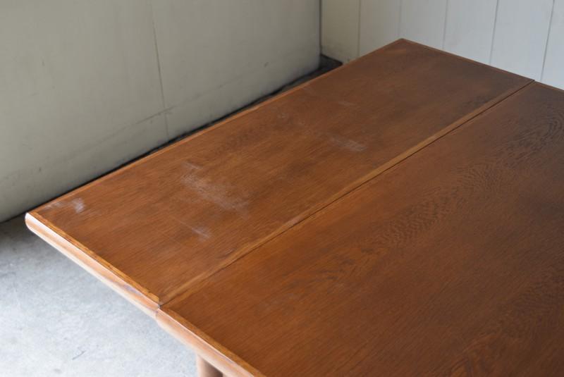 擦れあり,ヴィンテージ,カリモク,karimoku,テーブル,ダイニングテーブル,エクステンションテーブル