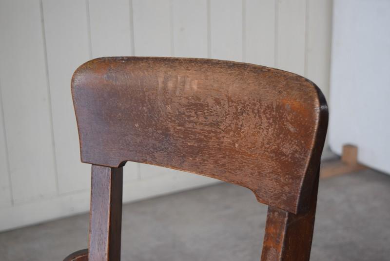 背もたれ,アンティーク,ヴィンテージ,チェア,椅子,回転椅子,郵便局,木製