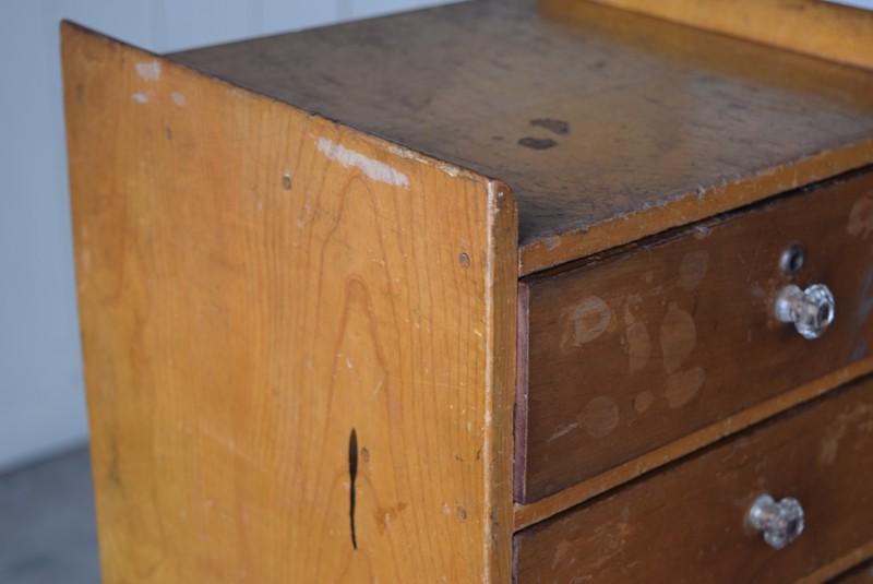 愛用されてきた跡が残る,アンティーク,ヴィンテージ,小引き出し,レターケース,パーツケース,書類ケース,希少