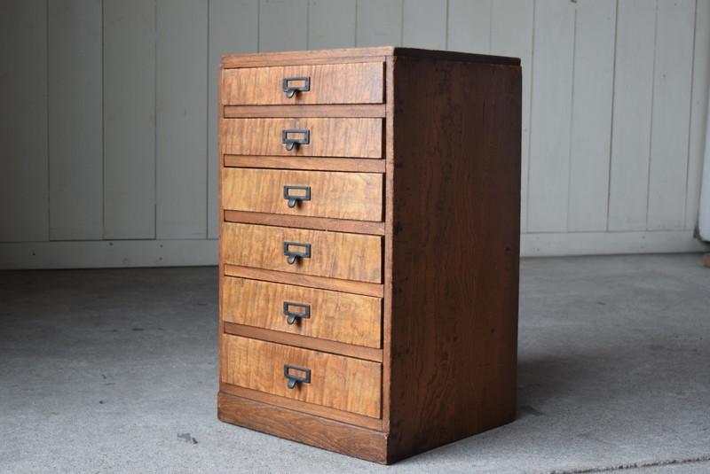 個性的で美しい木目の引き出し,アンティーク,ヴィンテージ,収納,小物入れ,A4,書類ケース,ドロワーズ,チェスト,引き出し