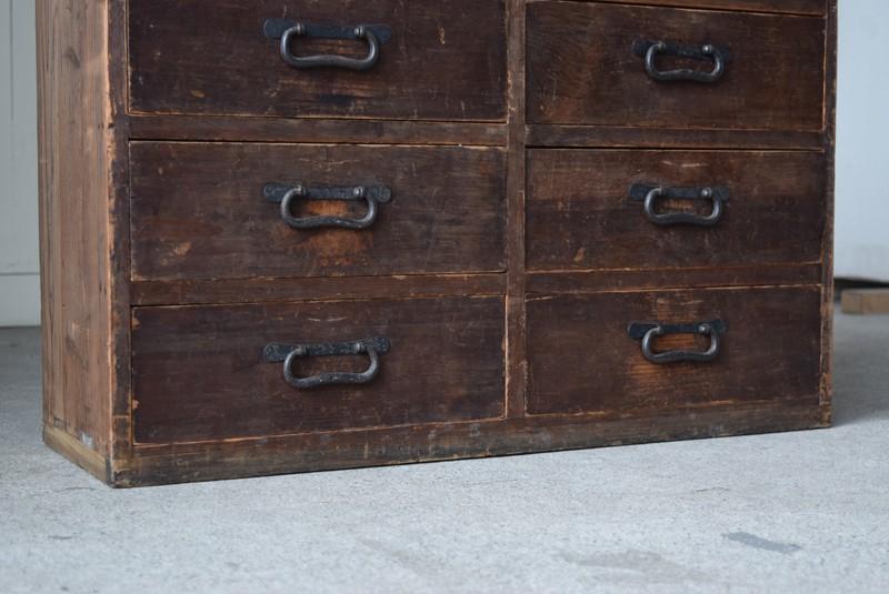 脚元,古道具,民芸,箪笥,帳場箪笥,和箪笥,収納,水屋,引き出し,和金具,飾り台,