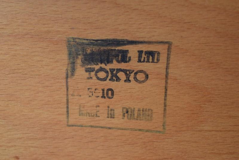 ポーランド製を示すスタンプ,イギリス,北欧,ウィンザーチェア,椅子,チェア,ヴィンテージ,アンティーク,イルマリタピオヴォーラ,ファネットチェア,コームバック
