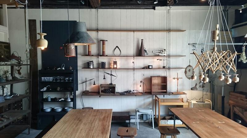 アンティーク照明,リメイクランプ展をREFACTORY antiquesで開催