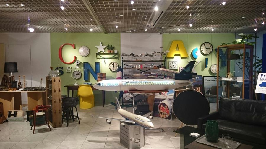 ザコンランショップでヴィンテージフリーマーケットを開催。10店舗のアンティークショップや古道具屋が新宿本店に集いました。