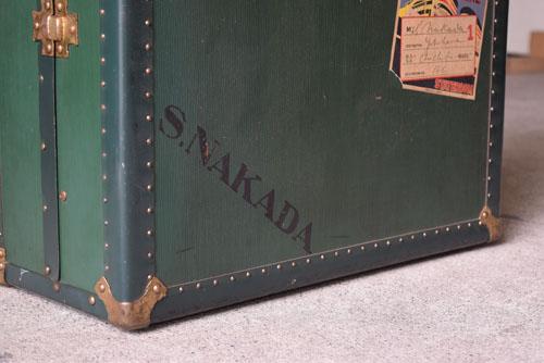 アンティーク,ヴィンテージ,トランク,衣装トランク,HARTMANN,ハートマン,アメリカ製,使われてきた跡も