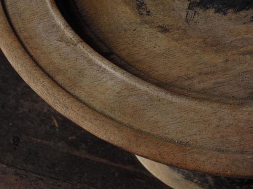 塗装剥がれ,アンティーク,器,高杯,木製,プリミティブ,古道具